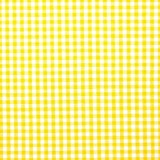 Cuadritos vichy en amarillo