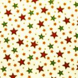 Estrellas de Navidad en rojo y verde