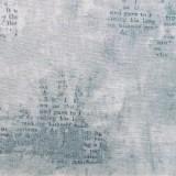 Tela patchwork Simply Gorjuss papel mojado en gris 1