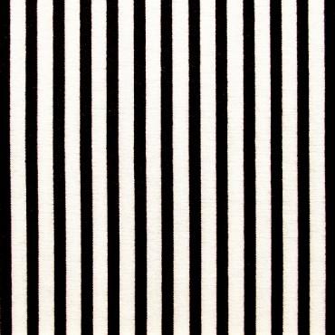 Tela patchwork Simply Gorjuss rayas en blanco y negro
