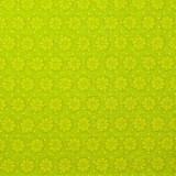 Tela patchwork margaritas en verde pistacho