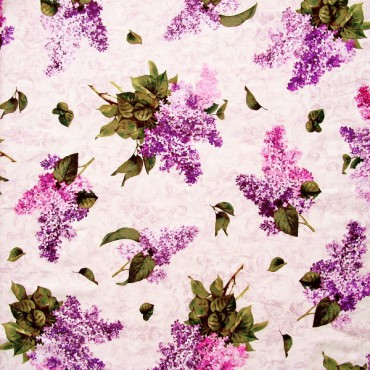 Tela patchwork Château ramos de lilas