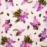 Tela patchwork Château ramos de lilas 1