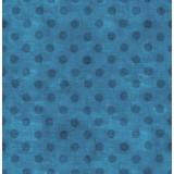 Tela patchwork Simply Gorjuss lunares en azul 1