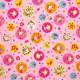 Tela patchwork princesitas en círculos 3