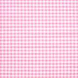 Tela patchwork cuadritos Vichy en rosa claro 1
