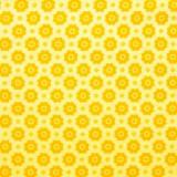 Tela patchwork flores amarillas 1