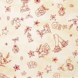 Tela patchwork adornos country de Navidad 1