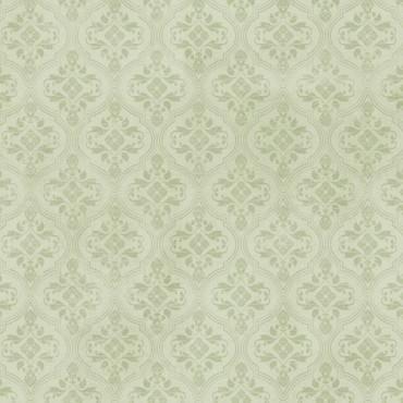 Tela patchwork Mirabelle brocado verde menta