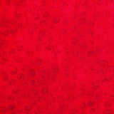 Tela patchwork Quilting Temptations rojo cereza 1