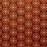 Tela patchwork In Bloom medallones en caoba 1