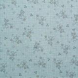 Tela patchwork Needles and Pins ramitas de flores en azul 1