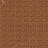 Tela patchwork Sugary Sweet topos en marrón