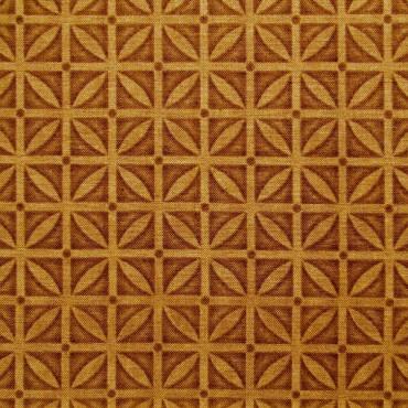 Tela patchwork enrejado avellana