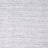 Tela patchwork Mirabelle La Vie en Rose letras sobre gris