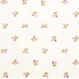 Tela patchwork Symphony Rose mini rositas sobre blanco 1