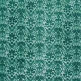Tela patchwork Gorjuss Heartfelt adamascado en verde turquesa 1