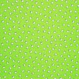 Tela patchwork japonesa circulos y lunarcitos sobre verde 1
