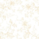Tela patchwork Harper tallos trepadores en beige