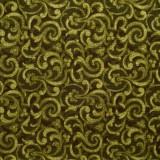 Tela patchwork Carmen filigranas en verde oliva 1