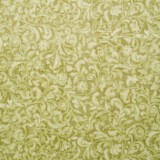 Tela patchwork Mirabelle Curiosity filigranas florales en verde 1