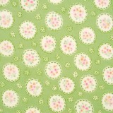 Tela patchwork Sweet Baby Rose medallones con flores 1