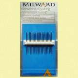 Agujas semi-largas para quilting de Milward