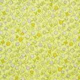 Tela patchwork Soho Calicos entramado de florecitas sobre verde 1