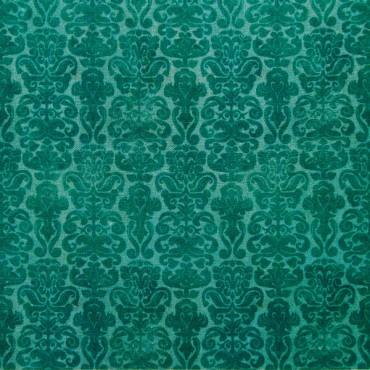 Tela patchwork Gorjuss My Story brocado azul oscuro