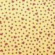 Tela patchwork Baker's Dozen cranberries sobre crema 1